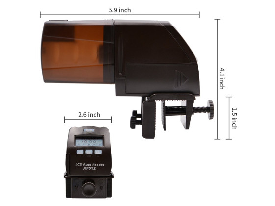 AF012 AutoFeeder Dimensions