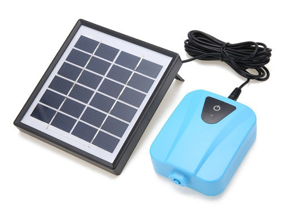 Solar Powered Pond Aerator Air Pump